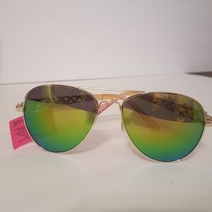 Betsey Johnson Aviator Sunglasses